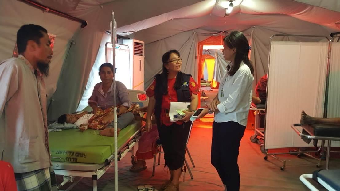 FK UKI Hadir di Tengah Penderitaan Korban Gempa Lombok