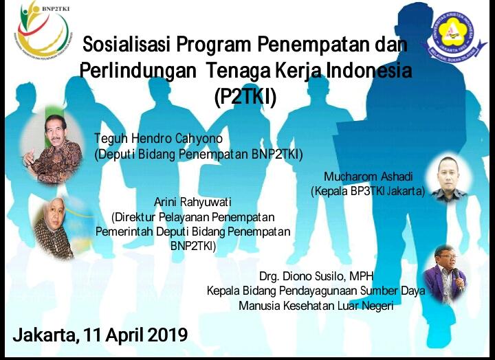 Sosialisasi Program Penempatan dan Perlindungan Tenaga Kerja Indonesia (P2TKI) di Universitas Kristen Indonesia Fakultas Vokasi