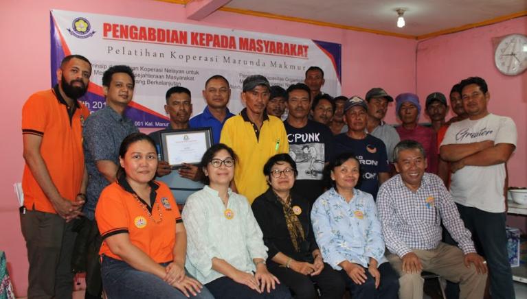 Pengabdian Kepada Masyarakat : Penguatan Kapasitas Organisasi dan Manajemen Koperasi Nelayan Marunda