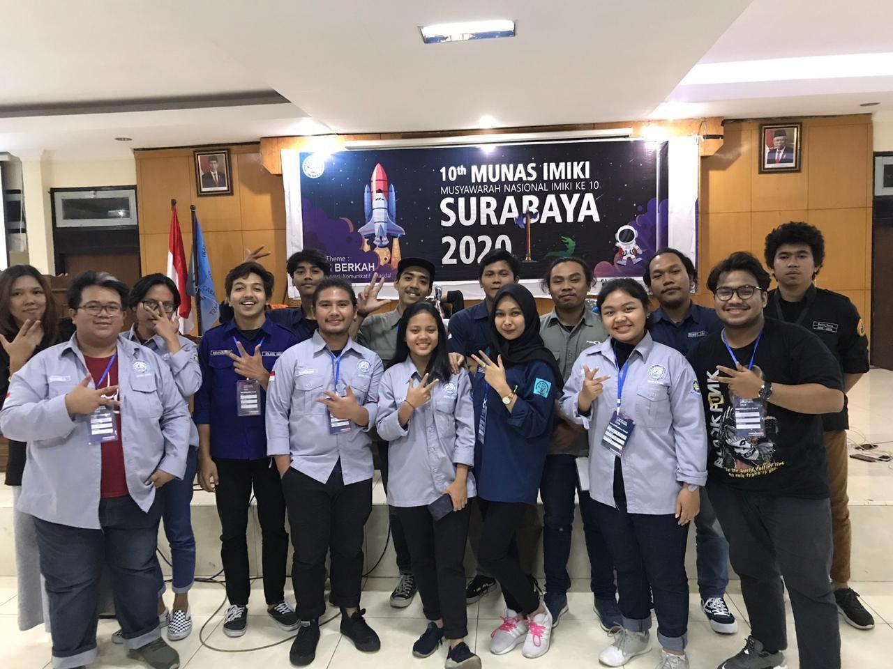 Mahasiswa Ilmu Komunikasi mengikuti Kegiatan Musyawarah Nasional X Ikatan Mahasiswa Ilmu Komunikasi Indonesia (IMKI)