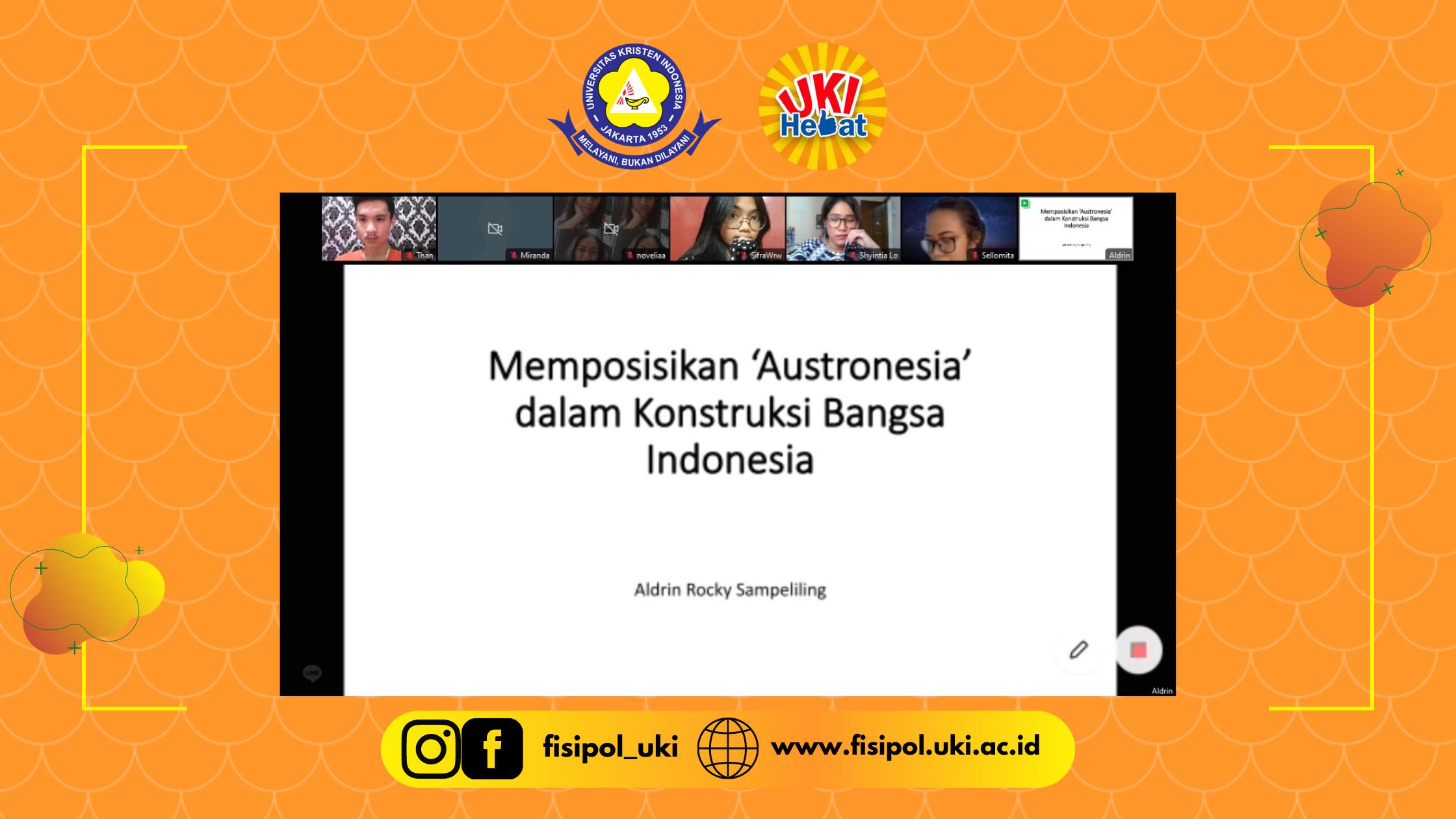 """RUANG RASIO-MENGKONSTRUKSI """"AUSTRONESIA"""" DALAM KONTRUKSI BANGSA INDONESIA"""