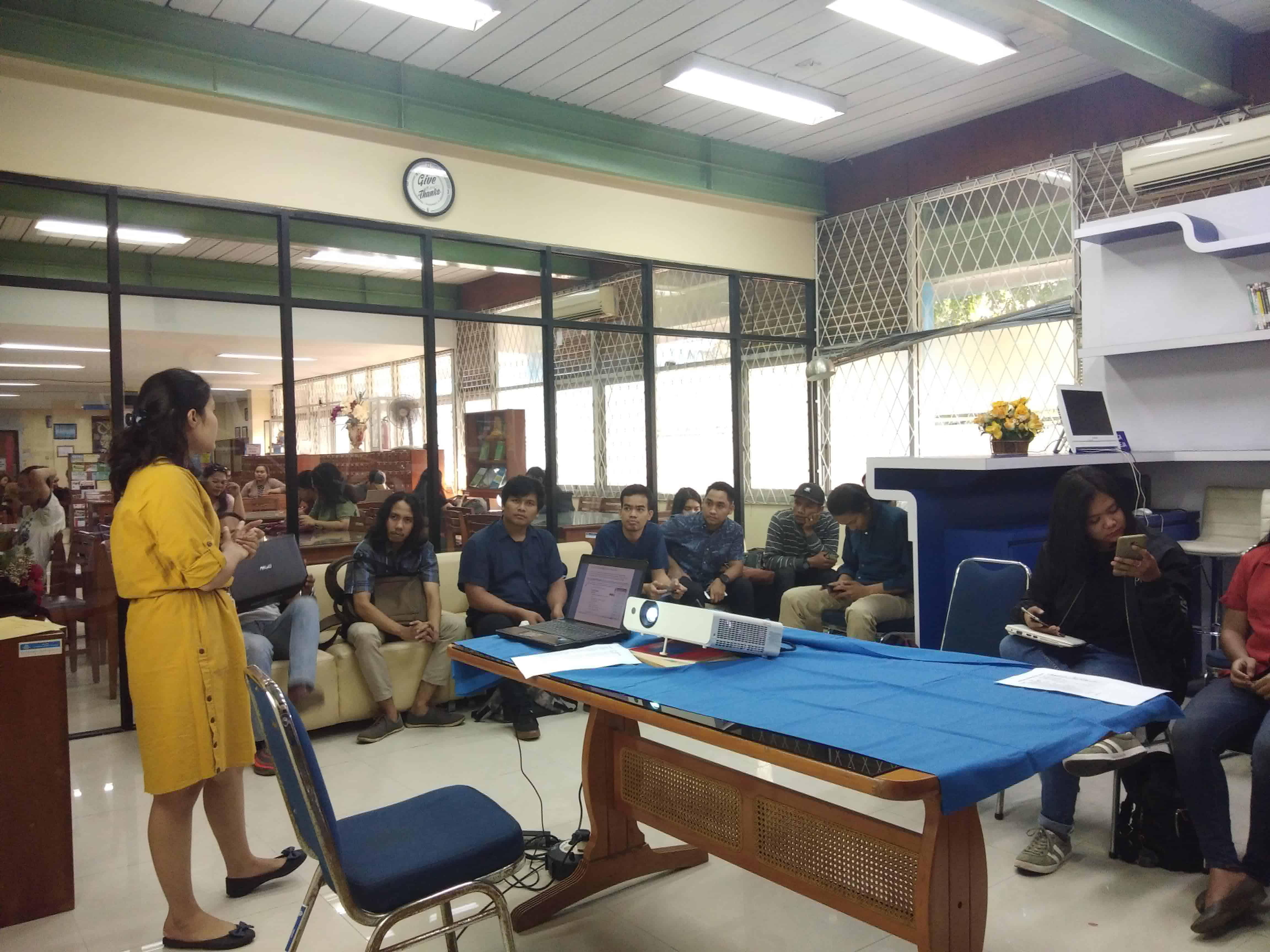 Kelas Literasi Turnitin Student