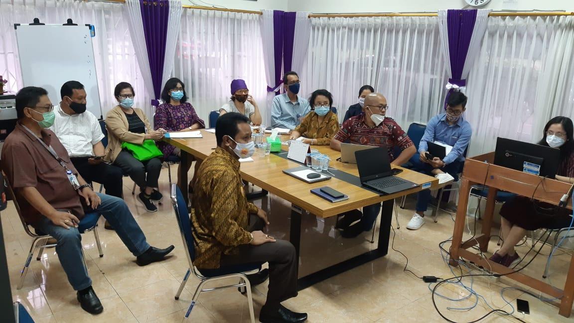 Rapat Pleno RIP Penelitian dan RIP PkM Fakultas Vokasi