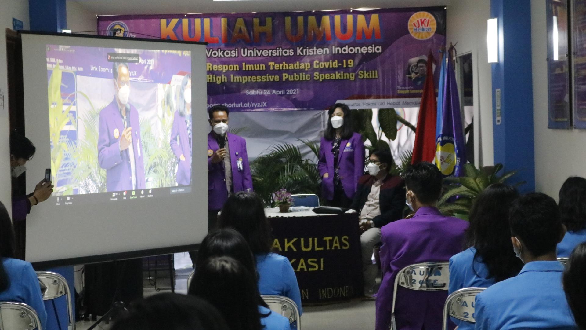KULIAH UMUM FAKULTAS VOKASI UNIVERSITAS KRISTEN INDONESIA