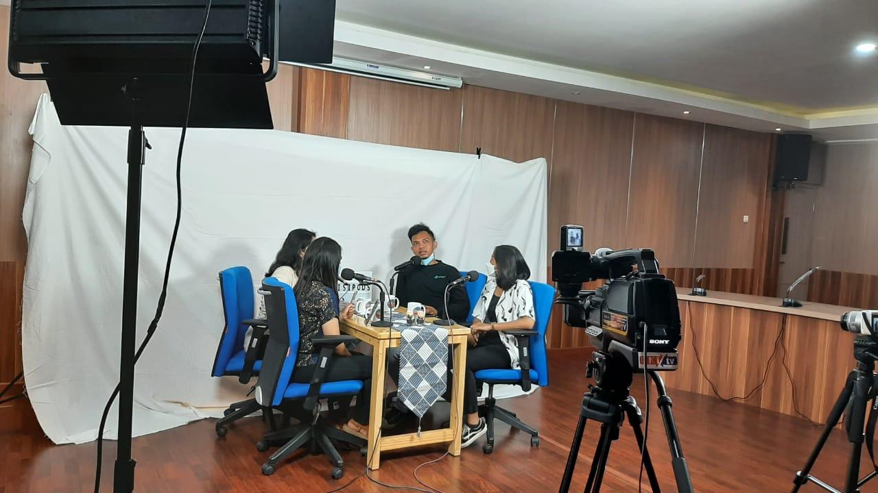 Tetap Kreatif ditengah Pandemi, Ormawa Fisipol UKI luncurkan Podcast