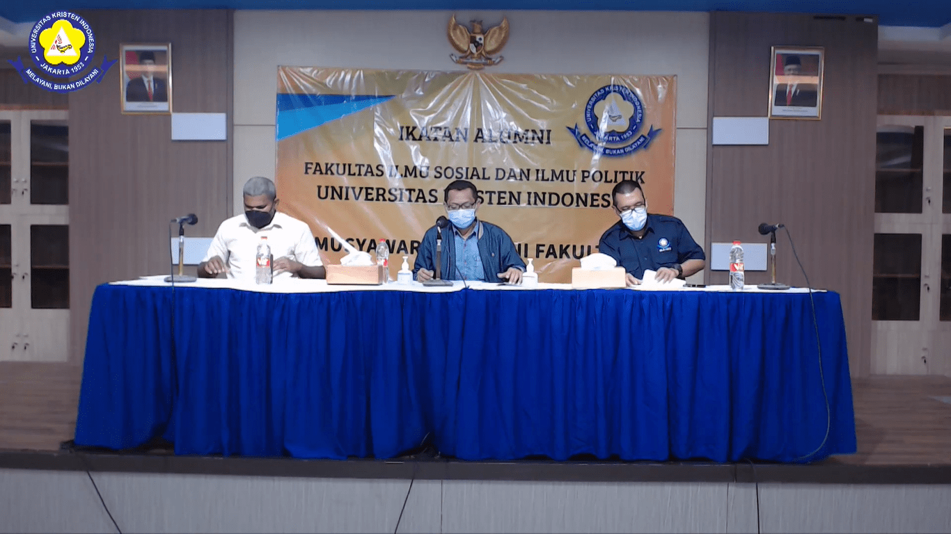 Musyawarah Ikatan Alumni Fakultas Ilmu Sosial dan Ilmu Politik Universitas Kristen Indonesia 2021
