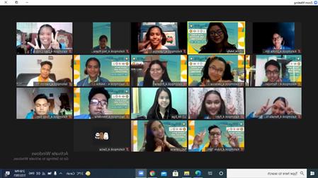Ormawa Fisipol UKI Sukses Gelar LKMM – TD 2021 Secara Virtual