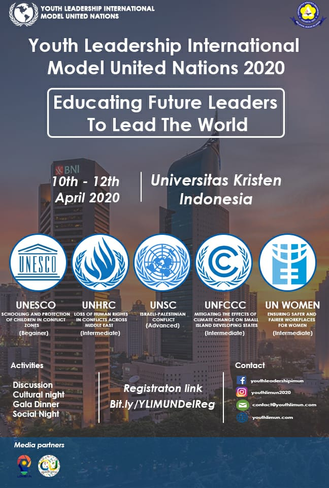 Youth Leadership International Model United Nations 2020