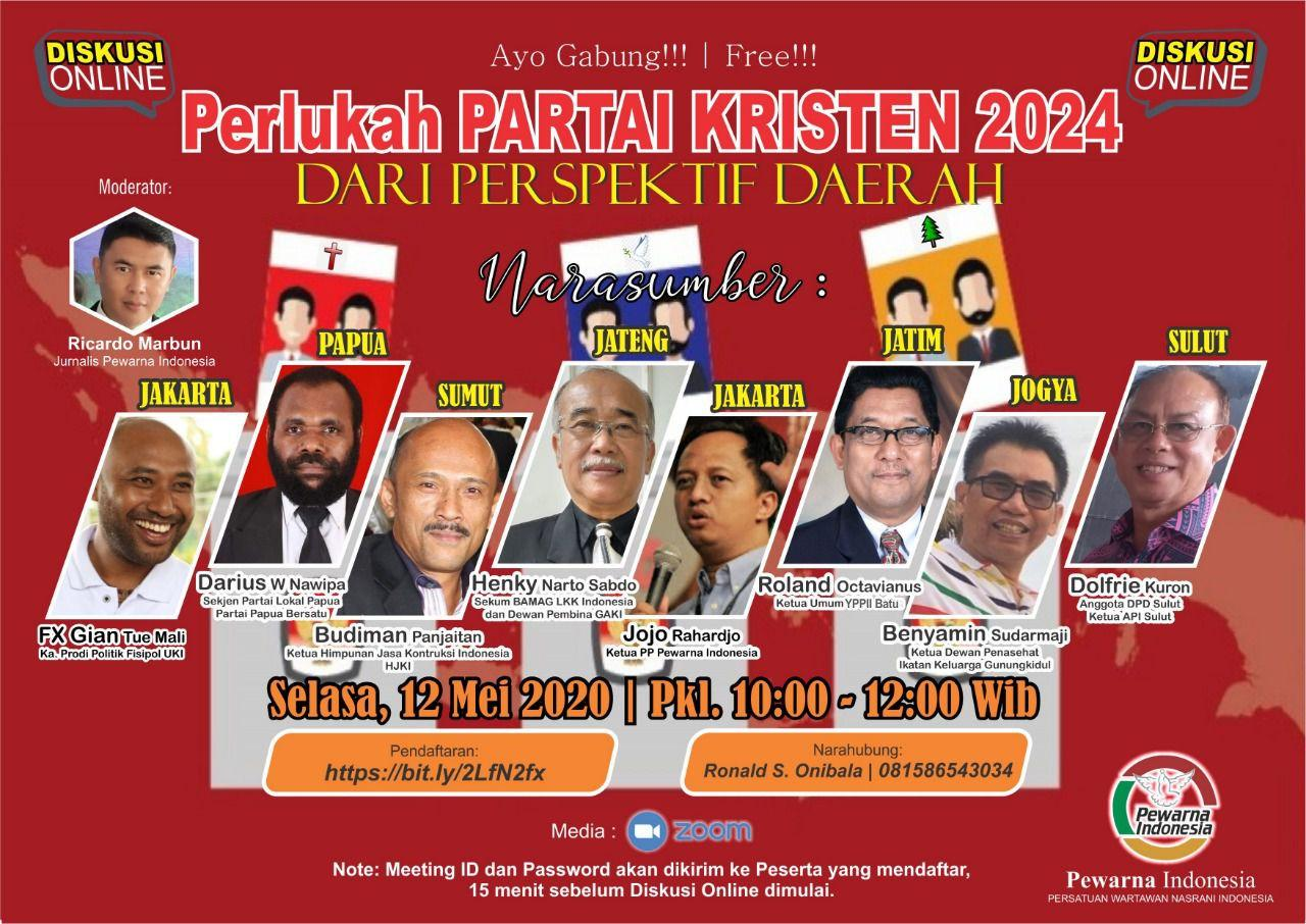 DISKUSI ONLINE OLEH PERSATUAN WARTAWAN NASRANI INDONESIA (PEWARNA INDONESIA)