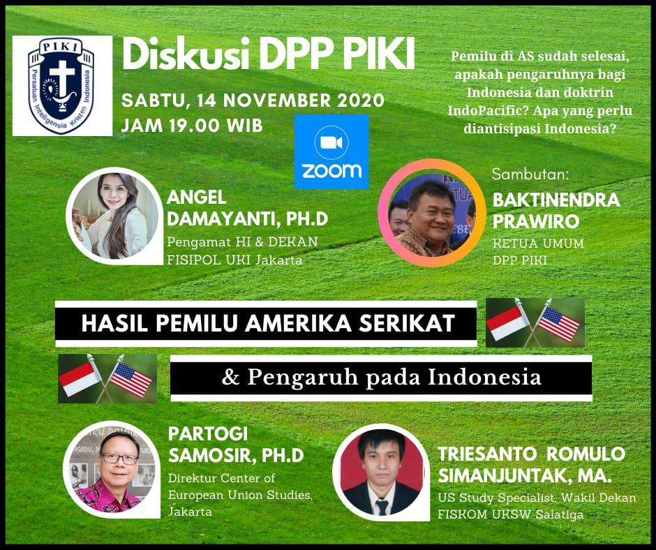 Diskusi DPP PIKI