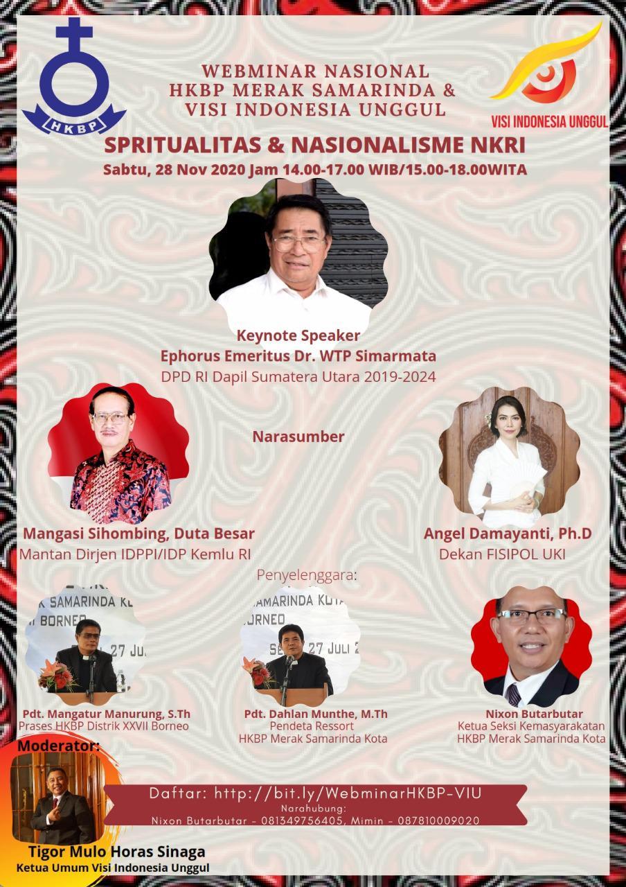 Spritualitas & Nasionalisme NKRI